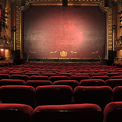 Faculty of Arts image of theatre interior